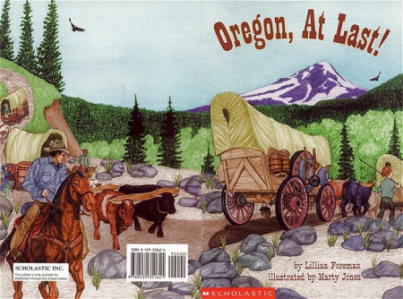 children's book jacket: Oregon At Last
