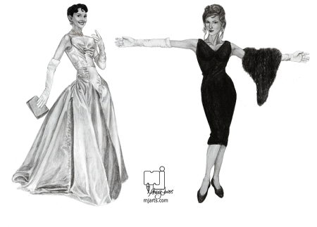 1950's fashion models