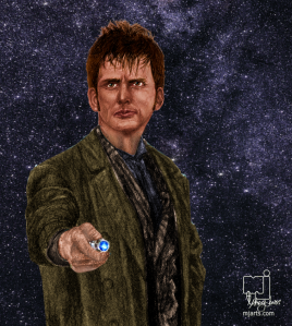 10 th Doctor_bust_web