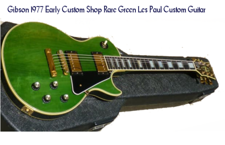 Les Paul Custom Guitar