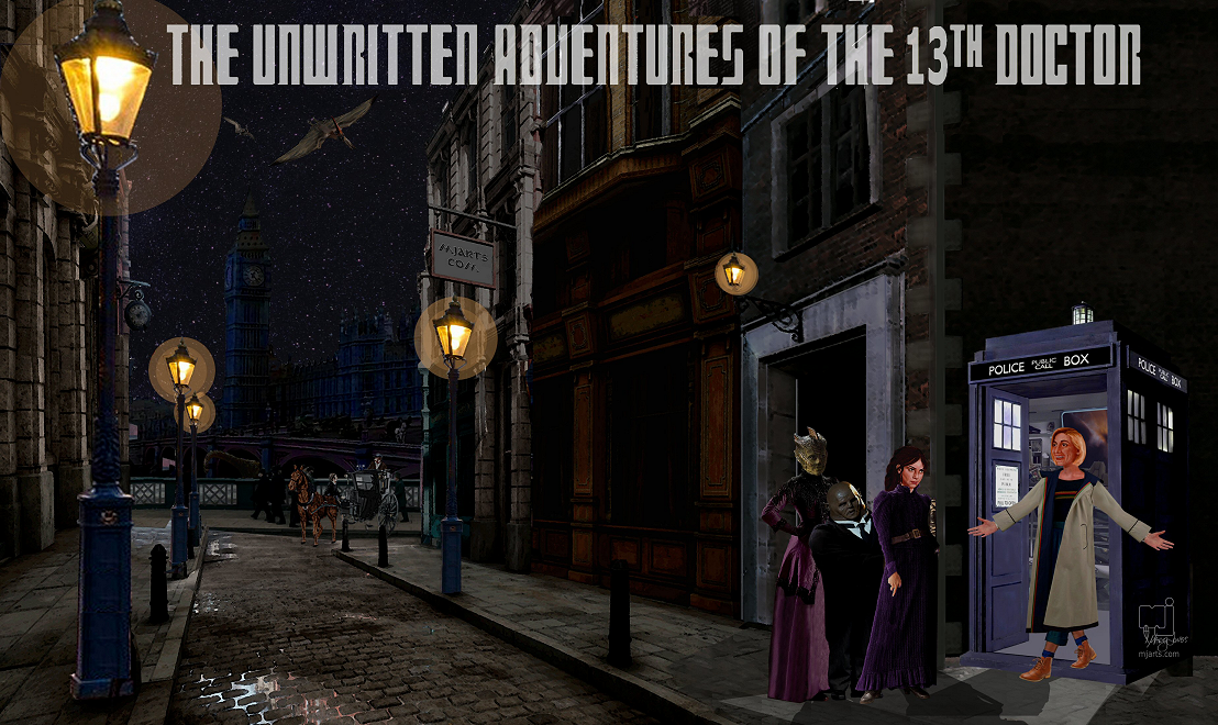 The 13th Doctor and the Paternoster Detective Agency
