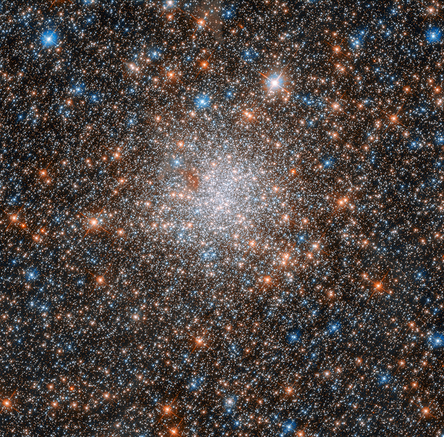 globular cluster NGC 1898, which lies toward the center of the Large Magellanic Cloud